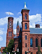 Smithsonian Photos - Smithsonian Castle 2 by Douglas Barnett
