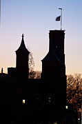 Smithsonian Prints - Smithsonian Castle Print by Jeff Mollman