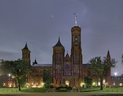 Historic Photos - Smithsonian Castle by Metro DC Photography
