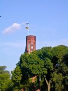 Smithsonian Photos - Smithsonian Castle Tower Fags Flying by Douglas Barnett