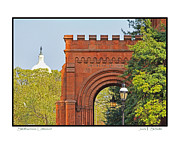 Smithsonian Museum Framed Prints - Smithsonian Entrance Framed Print by Jack Schultz
