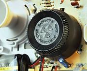 Smoke Detector Radiation Source Print by Martin Bond