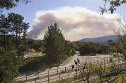 Fires Photos - Smoke From Ventura Wildfire, View by Rich Reid