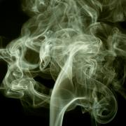 Smoking Cigarette Prints - Smoke Print by Peter Verdnik