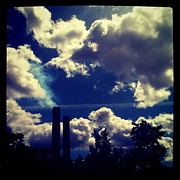 Goodrich Prints - Smoke Stack Art Print by Trish Hale