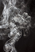 Visible Prints - Smoke Swirls  Print by Garry Gay