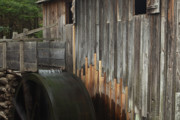 Grist Mill Art - Smokies Mill by Andrew Soundarajan