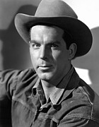 1946 Movies Metal Prints - Smoky, Fred Macmurray, 1946 Metal Print by Everett