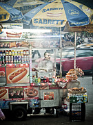 Stret Photos - Smoky Gyros by Darren Martin