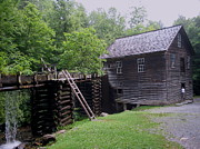 Tennessee Historic Site Prints - Smoky Mountain Mill Print by CGHepburn Scenic Photos