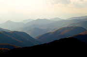 Great Smokey Mountains Prints - Smoky Mountain Overlook Great Smoky Mountains Print by Rich Franco
