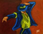 Mj Painting Posters - Smooth Criminal Poster by Jason JaFleu Fleurant