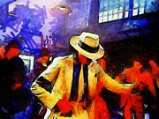 Michael Jackson Metal Prints - Smooth Criminal  Metal Print by Liss Silverwing