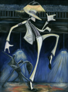 Dancing Painting Framed Prints - Smooth Criminal Framed Print by Tu-Kwon Thomas
