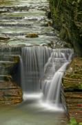 Waterfall Photo Prints - Smooth Print by Evelina Kremsdorf