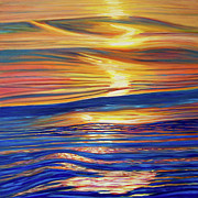 Ripples Paintings - Smooth Jazz by Brian  Commerford