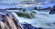 Great Falls Park Maryland Framed Prints - Smooth Framed Print by JC Findley