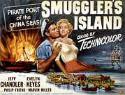 Keyes Posters - Smugglers Island, Jeff Chandler, Evelyn Poster by Everett