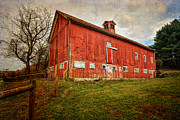 Red Barn Prints - Smyrski Farm  Print by Bill  Wakeley