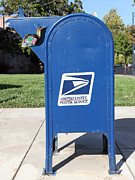 Mail Box Photo Metal Prints - Snail Mail - 5D18813 Metal Print by Wingsdomain Art and Photography