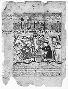 Baghdad Posters - Snake Healers, 12th Century Poster by 