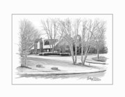 Snellville Police Station Print by Anthony R Socci