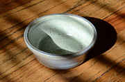American Ceramics Acrylic Prints - Snickerhaus Pottery Small Bowl No.2 Acrylic Print by Christine Belt