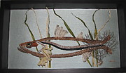 Seagrass Sculptures - Snook by Beth Lane Williams
