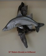 Nautical Sculptures - Snook Time by Dos Artesanos