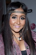 Snooki Nicole Polizzi At A Public Print by Everett
