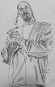 Snoop Dogg Print by Estelle BRETON-MAYA