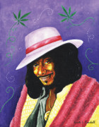 Optimistic Paintings - Snoop Dogg by Kristi L Randall
