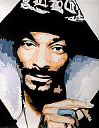 Rap Painting Prints - Snoop Print by Jocelyn Passeron