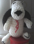 Stuffed Animal Toys Tapestries - Textiles - Snoopy by Sarah Biondo