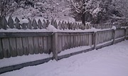 Jeannette Brown - Snow Along A Fence