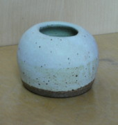 Round Ceramics - Snow Ball Holder by Katrina  Larock