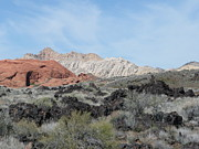 Outlook Photos - Snow Canyon Rock Colors by Angela Hansen