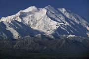 Snow-capped Peak Prints - Snow-capped Mount Mckinley, Alaska, Usa Print by David Ponton