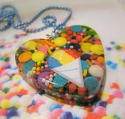Resin Jewelry - Snow Cone Summer Treat by Razz Ace