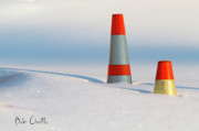 Winter Snow Landscape Photos - Snow Cones by Bob Orsillo