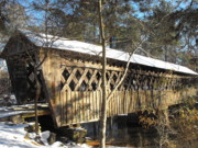 Adam Cornelison - Snow Covered Bridge