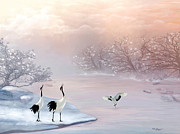 Thanh Thuy Nguyen - Snow Cranes