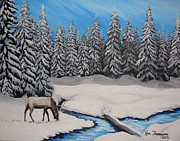 Ron Thompson - Snow Elk