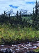 Scott Melby Originals - Snow in the Rockies by Scott Melby