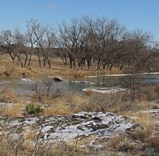 Nancy Natho - Snow on the San Saba...