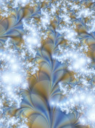 Snow Petals Print by Lauren Goia