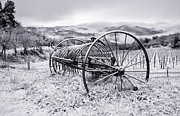 Plough Photos - Snow Plough by Michael Avory