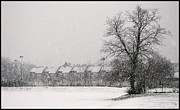 Snow Scape London Sw Print by Lenny Carter