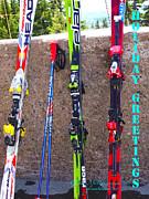Glenna McRae - Snow Skis Mt. Hood Oregon