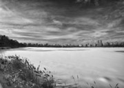 Snowstorm Art - Snow Storm 2 Panorama by Robert Ullmann
